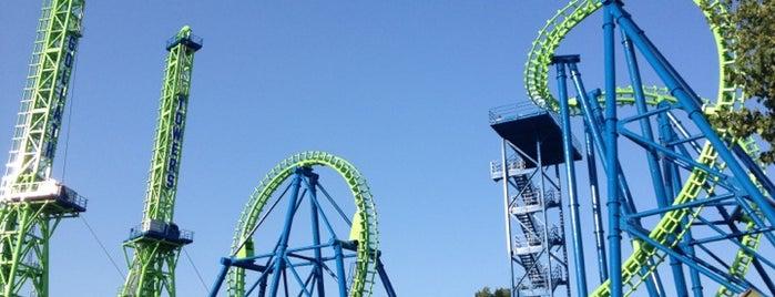 Six Flags New England is one of The Most Popular Theme Parks in U.S..