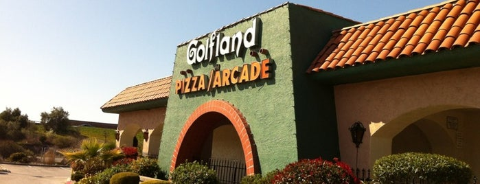 Golfland is one of Miniature Golf.