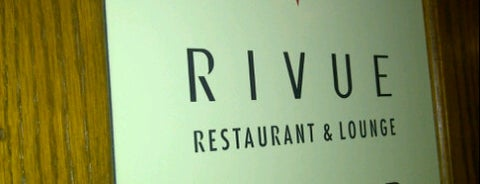 RIVUE Restaurant & Lounge is one of Where to Eat: Downtown.