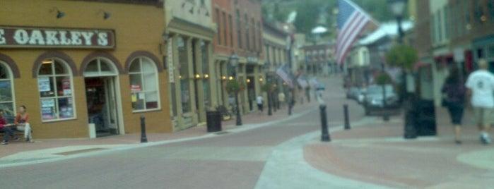 Central City is one of Tempat yang Disimpan Jonathan.