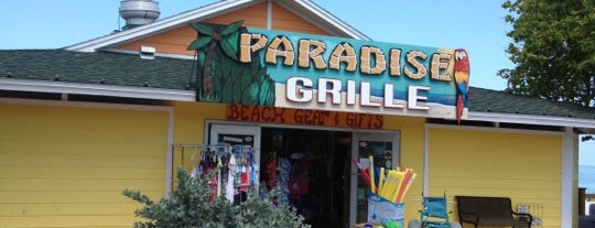 Paradise Grille and Bar is one of St Pete.