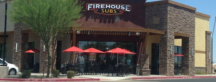 Firehouse Subs is one of สถานที่ที่ Kimmie D ถูกใจ.