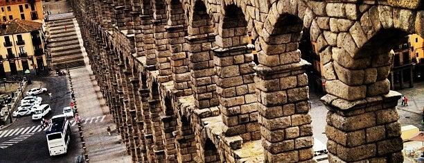 Acueducto de Segovia is one of Spain!.