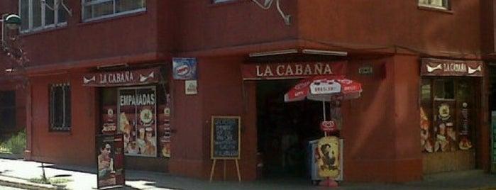 Almacen La Cabaña is one of Tempat yang Disukai Conti.