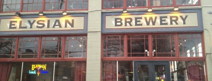 Elysian Brewing Company is one of Seattle Eats.