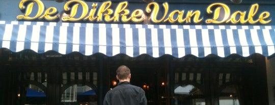 Grand Café De Dikke van Dale is one of Cafe top 100 2012.