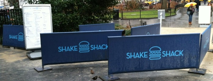 Shake Shack is one of Top Outdoor Eating Spots in NYC.