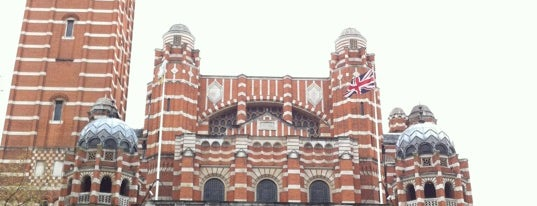 Westminster Cathedral is one of Tired of London, Tired of Life (Jan-Jun).