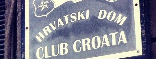 Club Croata is one of Posti salvati di Carmen Gloria.
