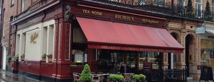 Richoux is one of London.