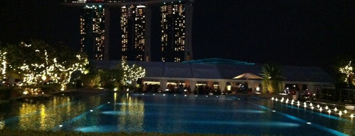 The Fullerton Bay Hotel is one of Singapore.