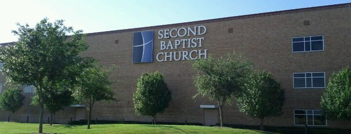 Second Baptist Church - West Campus is one of Locais curtidos por Phillip.