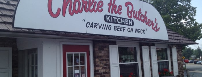 Charlie the Butcher's Kitchen is one of Diners Drive-Ins and Dives & Roadfood.