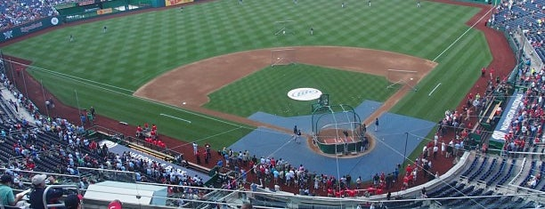 Nationals Park is one of Baseball Stadiums To Visit....