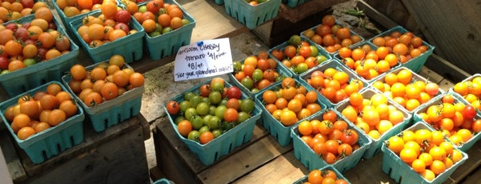 Farmers Market: Deering Oaks is one of Maine.