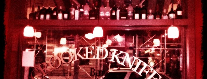 Crooked Knife is one of Bars.