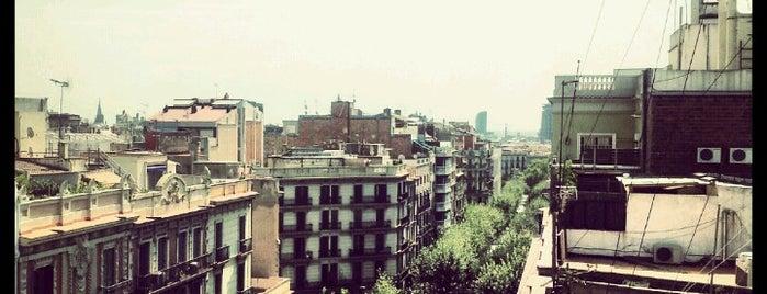 Carrer d'Aribau is one of Barcelona.