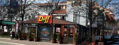 Fast food tzv. has sa trafike