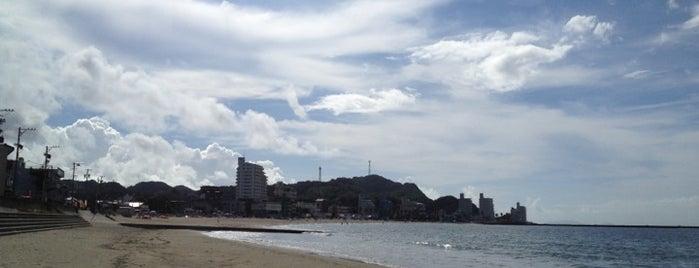 千鳥ヶ浜海水浴場 is one of 日本の渚百選.