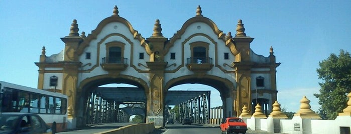 Puente Ezequiel Demonty (ex Puente Alsina / Uriburu) is one of สถานที่ที่ Matias ถูกใจ.
