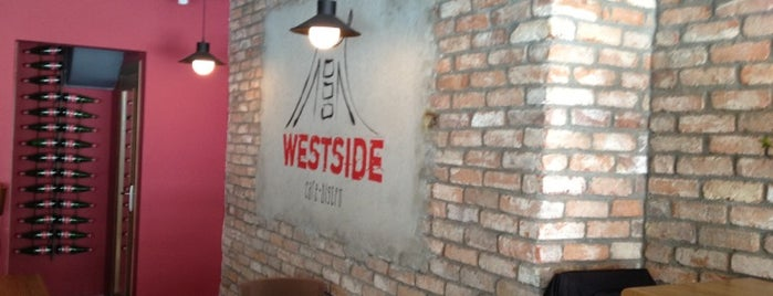 Westside Cafe Bistro is one of Fatos💎🧚🏼‍♀️❤️💎 님이 저장한 장소.