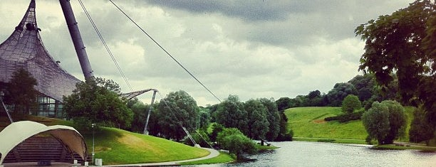 Olympiapark is one of StorefrontSticker #4sqCities: Munich.