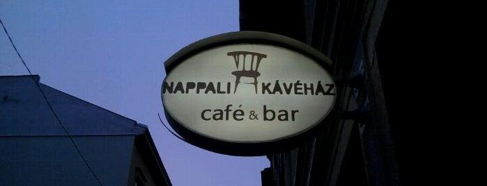 Nappali Kávéház is one of Budapest Food.