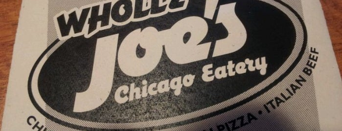 Wholly Joe's Chicago Eatery is one of Dinner Places.