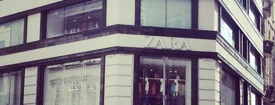 Zara is one of B.