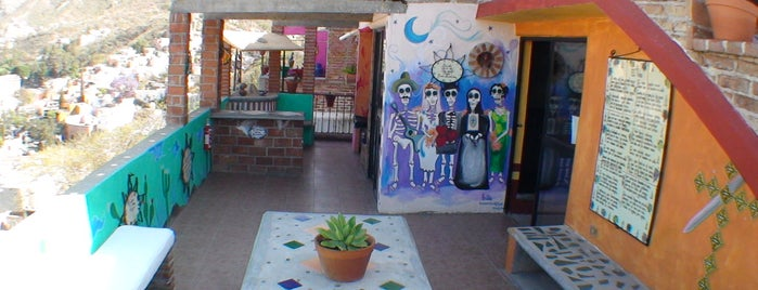 Hostal Casa de Dante is one of Mexican favorites.