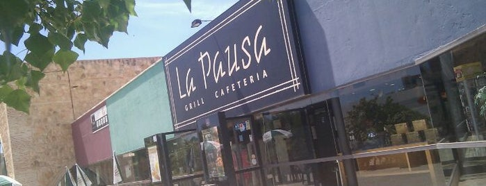 La Pausa is one of Youssef.