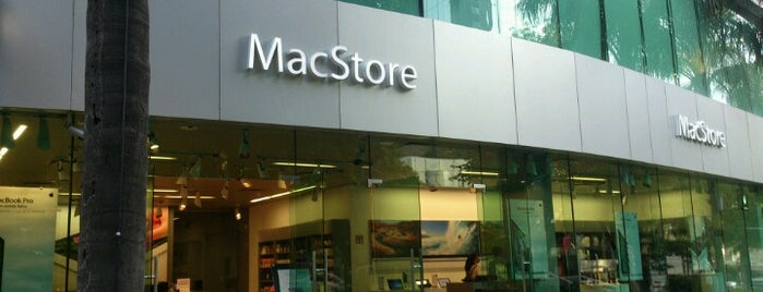 MacStore is one of Cristina 님이 좋아한 장소.