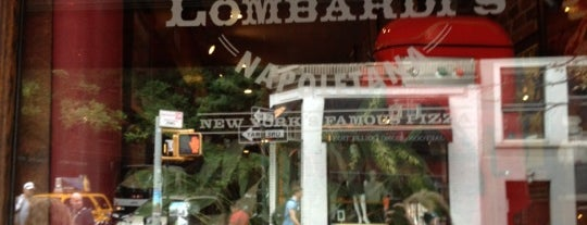 Lombardi's Coal Oven Pizza is one of NYC 🗽.
