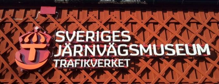 Sveriges Järnvägsmuseum is one of 4sq SUs Sweden 님이 좋아한 장소.
