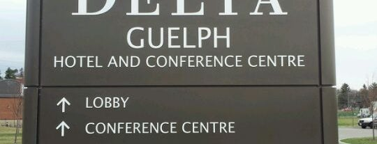 Delta Guelph Hotel and Conference Centre is one of nicolaさんの保存済みスポット.