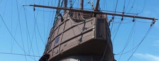 Kompleks Muzium Maritim (Samudera / Flor de La Mar) is one of Ships (historical, sailing, original or replica).