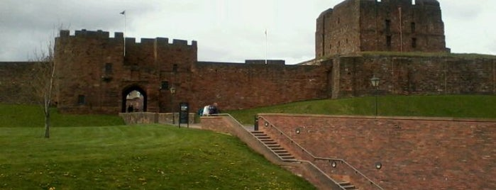 Carlisle Castle is one of Lieux qui ont plu à Carl.
