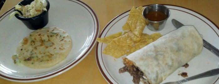 El Steak Burrito Taqueria Y Pupuseria is one of Locais curtidos por Martina.