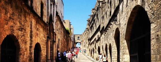 Street of the Knights is one of Rhodes island potpourri.
