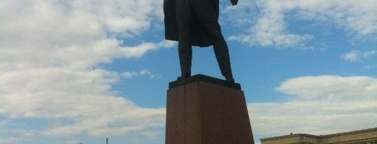 Памятник В. И. Ленину is one of Константин : понравившиеся места.
