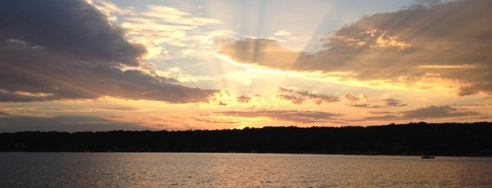 Pewaukee Lake is one of Party Lakes.
