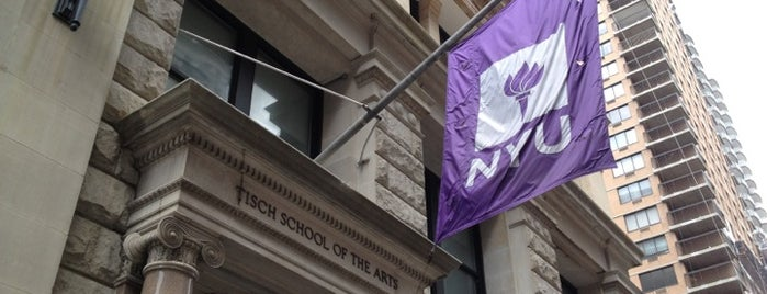 NYU Tisch School of the Arts is one of Locais salvos de JeiHoodie.
