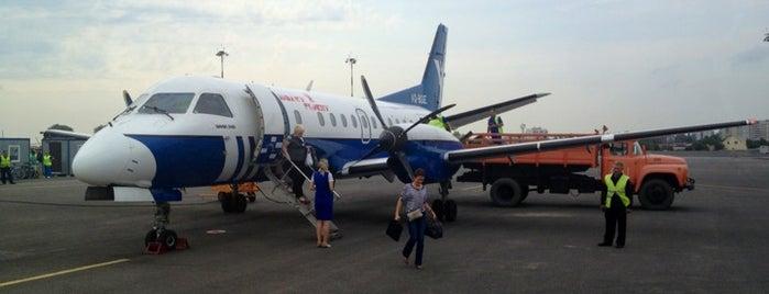 Belgorod International Airport (EGO) is one of Free WiFi Airports 2.