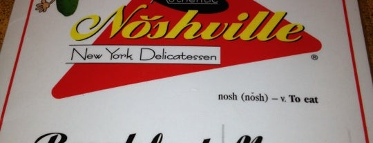 Noshville is one of Nashville.