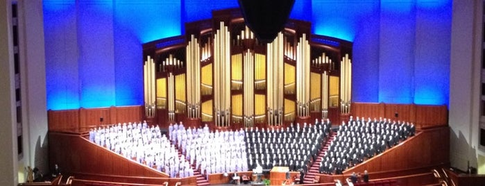 LDS Conference Center is one of UTAH, Not Just Mormons.