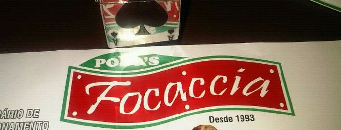 Popo's Focaccia is one of Restaurantes.