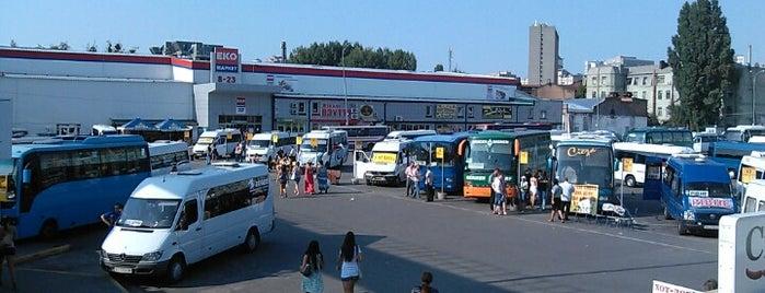 Автостанція «Київ» is one of Наталья и Настя в Киеве.