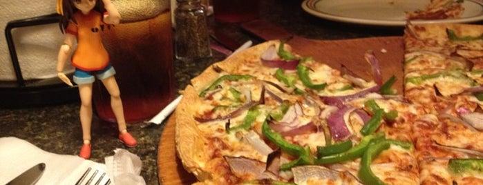 Pizza Hut is one of The Travelogue of Haruhi Suzumiya 涼宮ハルヒの旅日記.