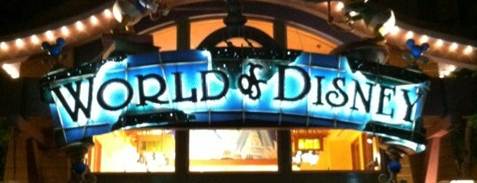 World of Disney is one of California Favorites.