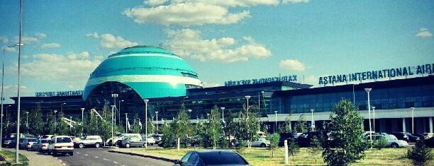 Aeroporto Internacional de Astana (NQZ) is one of Airports (around the world).